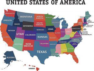 Danh Sách các tiểu Bang Mỹ